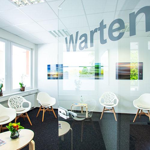 Hausarzt Wedel - Haatanen - Wartezimmer der Praxis